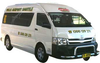 Hills Airport Shuttle Bus
