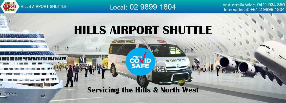 Hills Airport Shuttle Banner image